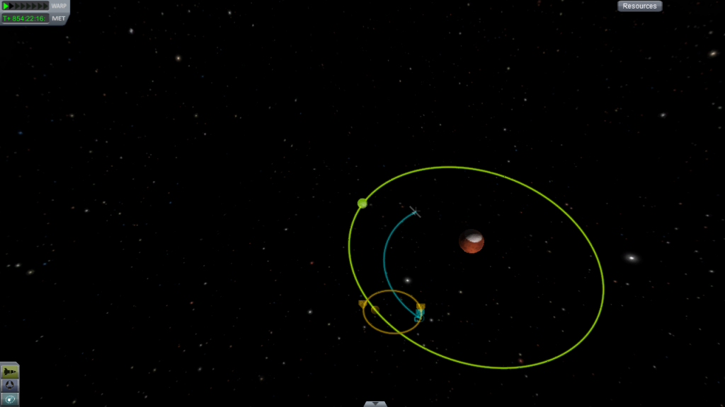Planning an orbit to be captured by Ike.